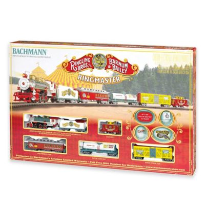 Ringling Brothers and Barnum & Bailey® Circus Ringmaster Electric Train Set