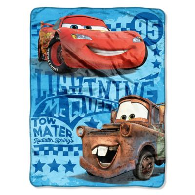 "Disney® Cars 2 ""Buddy"" Micro-Raschel Throw"