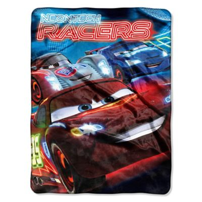 "Disney® Cars 2 ""Neontech Racers"" Micro-Raschel Throw"