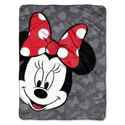 Disney® Minnie Bow Micro-Raschel Throw