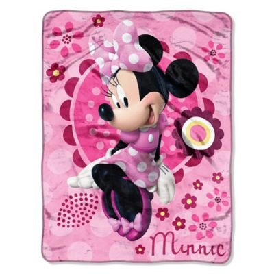 Disney® Minnie's Bow-tique Micro-Raschel Throw