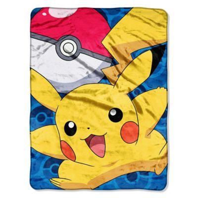 Pokémon Pikachu Micro-Raschel Throw