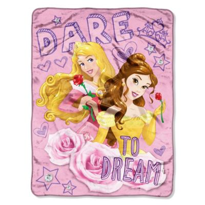 "Disney® Princess ""Dare to Dream"" Micro-Raschel Throw"