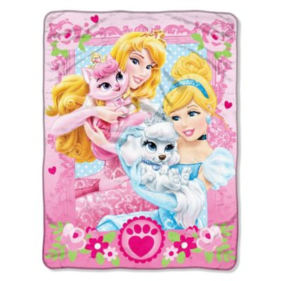 Disney® Princess Palace Pets Micro-Raschel Throw