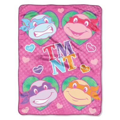 "TMNT ""Love"" Micro-Raschel Throw"
