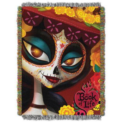 "Book of Life ""La Muerte"" Tapestry Throw"
