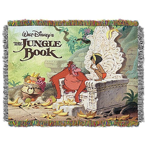 Disney® Classic Movie Tapestry Throw > Disney® The Jungle Book King Louie Tapestry Throw