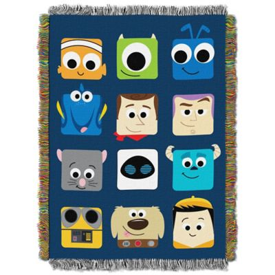 "Disney® Pixar ""Pixarland"" Tapestry Throw"