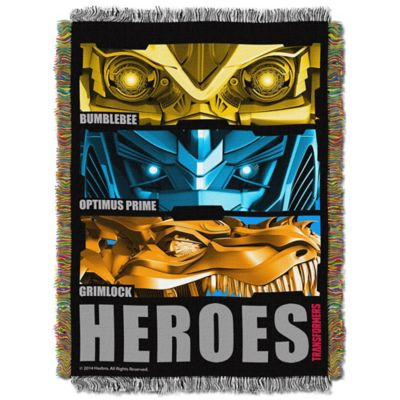 """Transformers"" Hero Slash Tapestry Throw"