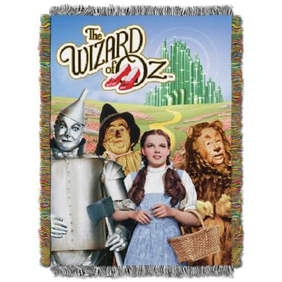 """Wizard of Oz™"" Tapestry Throw"