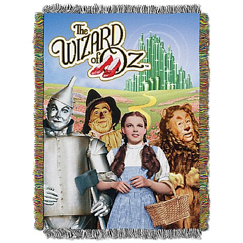 Quot Wizard Of Oz Quot Tapestry Throw Www Bedbathandbeyond Com