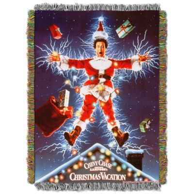 """National Lampoon's Christmas Vacation"" Shocking Chevy Tapestry Throw"