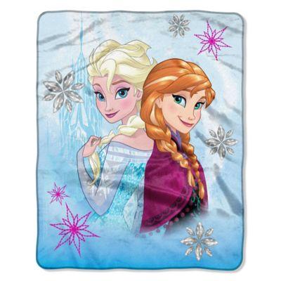 """Disney® """"Frozen"""" Crystal Love Raschel Throw"""