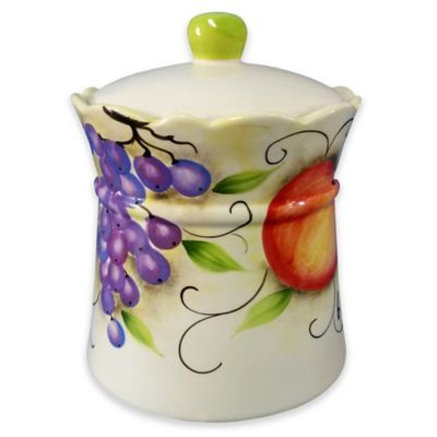 Lorren Home Trends Fruit Design Cookie Jar