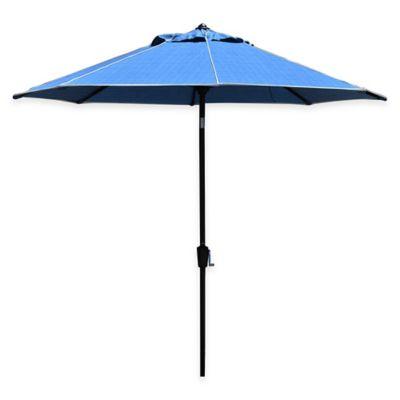 Scott Living™ 9-Foot Patio Umbrella in Tahiti Moorea Blue