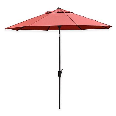 Buy Scott Living 9 Foot Patio Umbrella In Mango Orange