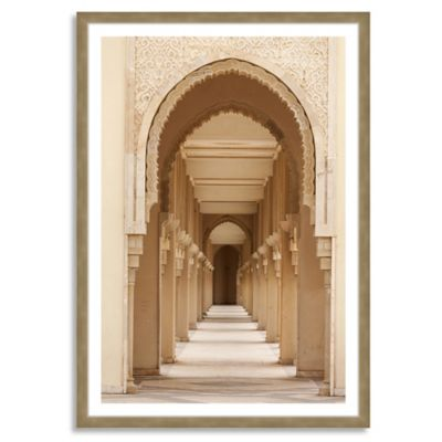 Casablanca Morocco Large Framed Photographic Wall Art