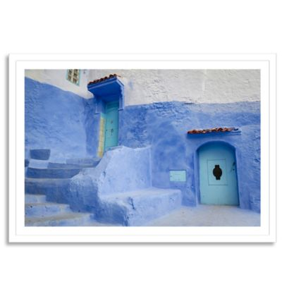 Chefchaouen Medina Large Photographic Wall Art