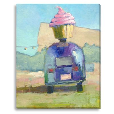 Hey Cupcake by Suzanne Stewart Extra-Large Canvas Wall Art