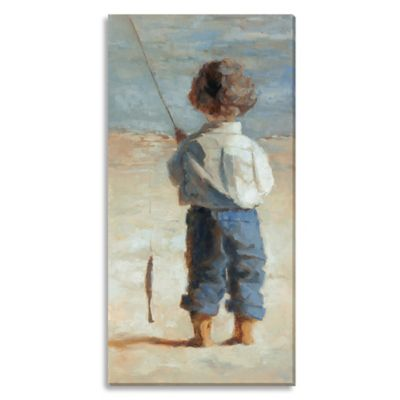 Little Feet by Suzanne Stewart Extra-Large Canvas Wall Art