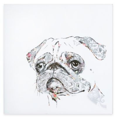 Graham & Brown Pug Canvas Wall Art