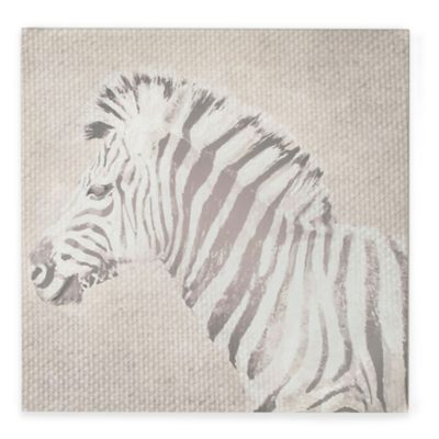 Zebra Canvas Print Wall Art