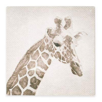 Giraffe Canvas Print Wall Art