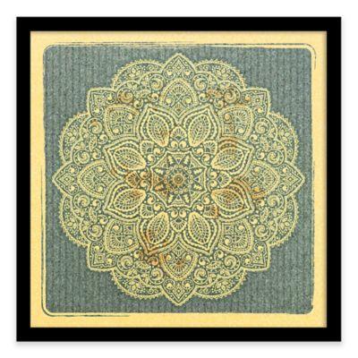 Ornamental Pattern Framed Corkboard