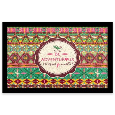 Be Adventurous Framed Corkboard