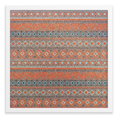 Tribal Pattern Framed Corkboard