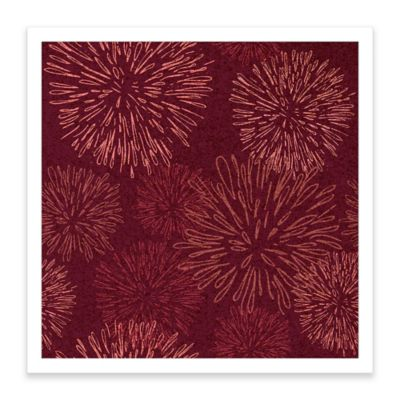 Fireworks Framed Corkboard