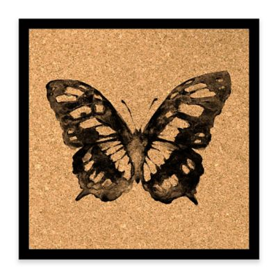 Butterfly Framed Corkboard