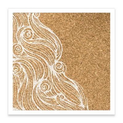 Water Waves Framed Corkboard