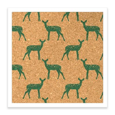 Hey Deer Framed Corkboard