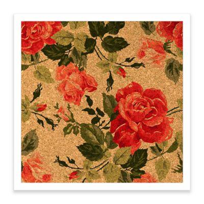 Rose Framed Corkboard