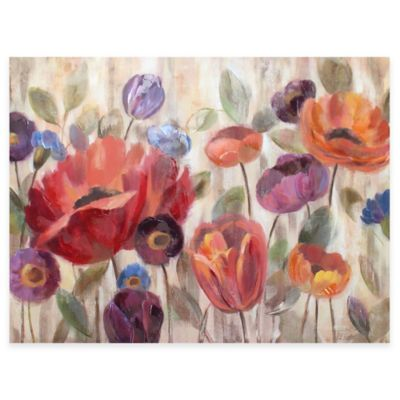Garden Glow Canvas Wall Art