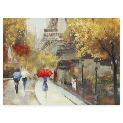 Amant De Marche Canvas Wall Art