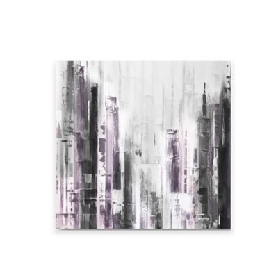 Abstract Cityscape Canvas Wall Art