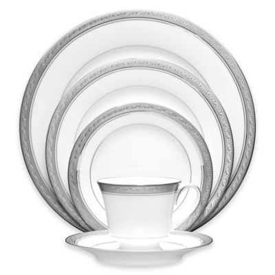 Noritake® Crestwood Platinum 5-Piece Place Setting