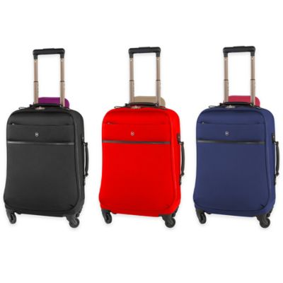 Victorinox® Victoria Ambition 20-Inch 4-Wheel Carry On Spinner in Black