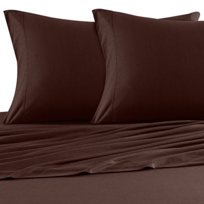 Brown Jersey Sheets