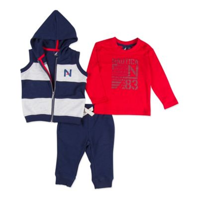 Blue Red Shirt and Pant Set