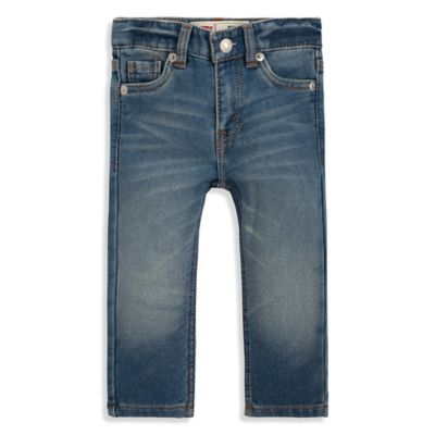 Levi's® Boy Size 12M Sea Salt Knit Jeans in Blue
