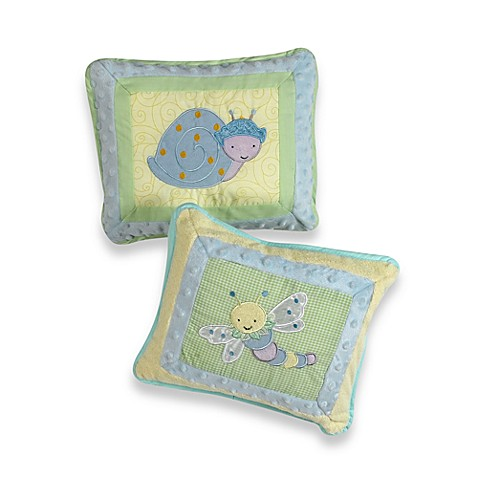 Kids Line™ Snug as a Bug Toss Pillow (Set of 2)