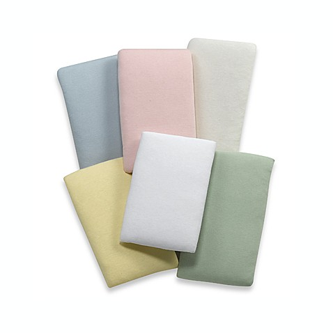 kidsline™ Jersey Knit 100% Cotton Cradle Sheets