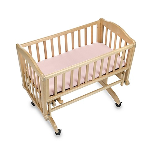 kidsline™ Jersey Knit Cradle Sheet in Pink