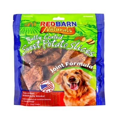 Redbarn Bully Coated Sweet Potato Slices Dog Treats