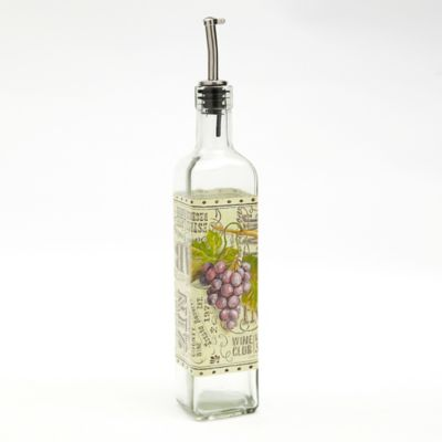Wine Collection Glass Oil Bottle