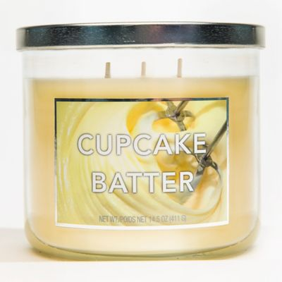 3-Wick Cupcake Batter Jar Candle