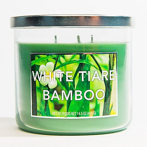 Buy 3 Wick Fresh Bamboo Jar Candle From Bed Bath Amp Beyond